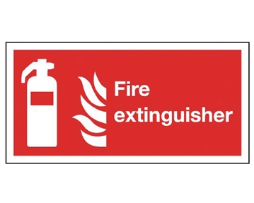 Self-Extinguishing Fire & Emergency Signs
