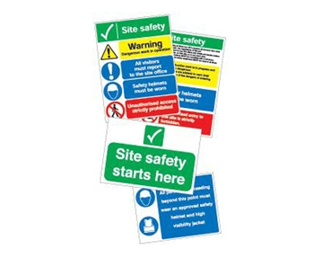 Site Safety Sign Packs