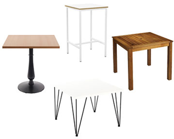 Square Top Tables