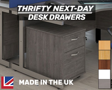 Thrifty Next-Day Delivery Desk Drawers