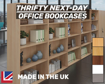 Thrifty-Next-Day Office Bookcases