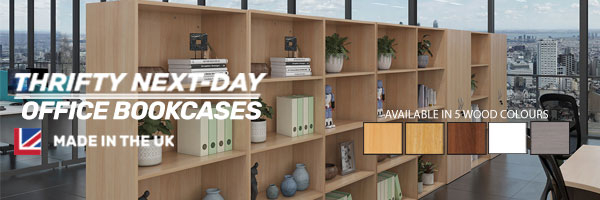 Thrifty Next-Day Office Bookcases