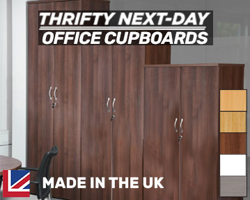 Thrifty Next-Day Delivery Office Cupboards