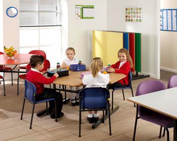 Tilt Top School Tables
