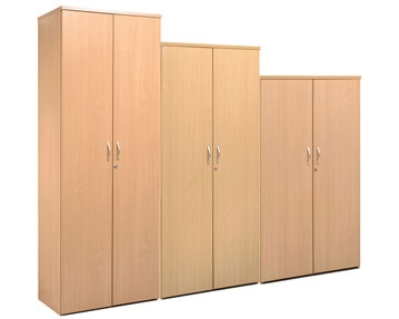 Wood Solid Door Cupboards