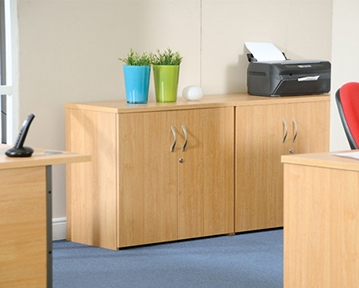 Wood Office Cupboards