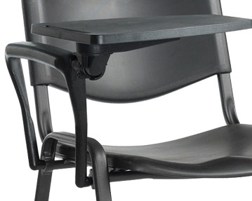 Plastic Writing Tablet chairs