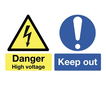 Electrical Hazards Signs