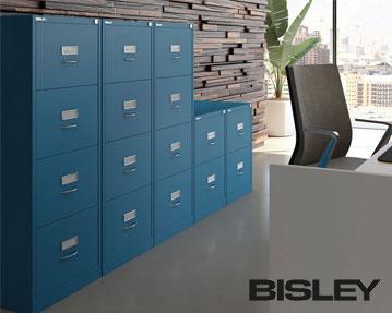 Bisley Foolscap Filing Cabinets
