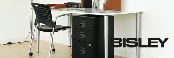 Bisley A4 Filing Cabinets - Now in 34 Colours!