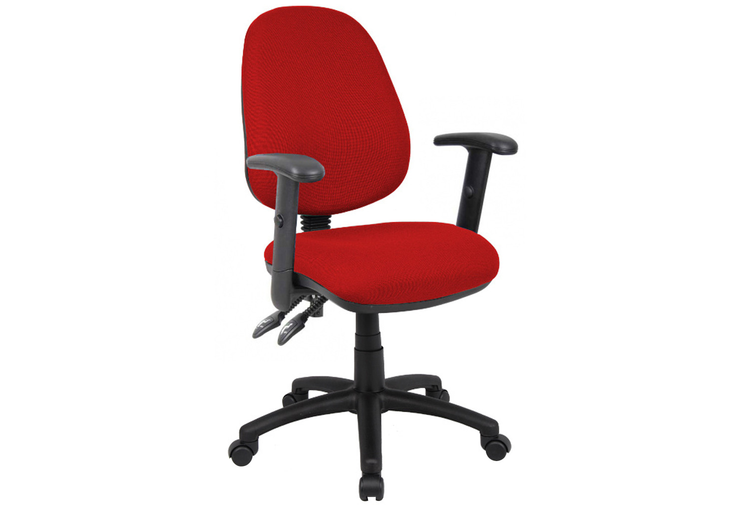 Vantage 3 Lever Operator Chair With Adjustable Arms