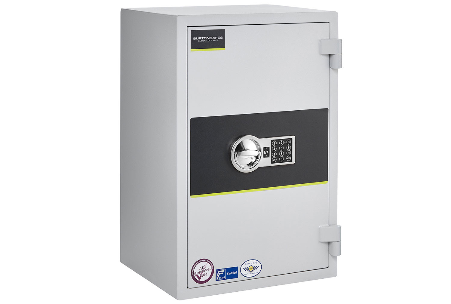 Burton Eurovault Aver Grade 0 Size 2 Safe With Electronic Lock (50ltrs)