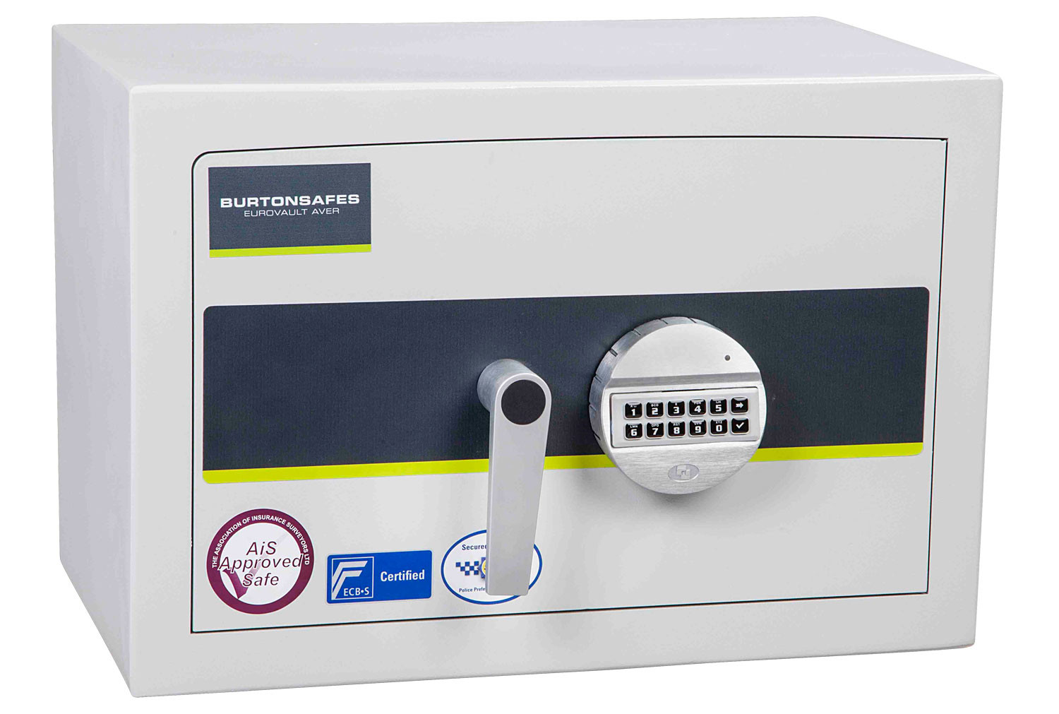 Burton Eurovault Aver Grade 1 Size 1 Safe With Electronic Lock (26ltrs)
