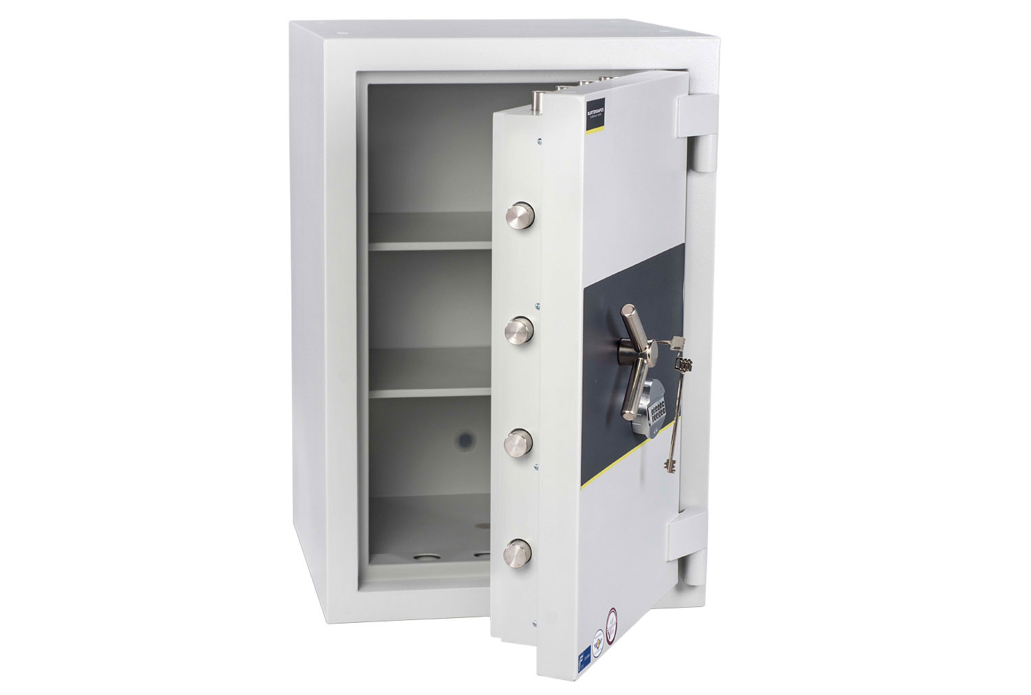 Burton Eurovault Aver Grade 5 Size 3 Safe With Dual Key And Electronic Lock (203ltrs)