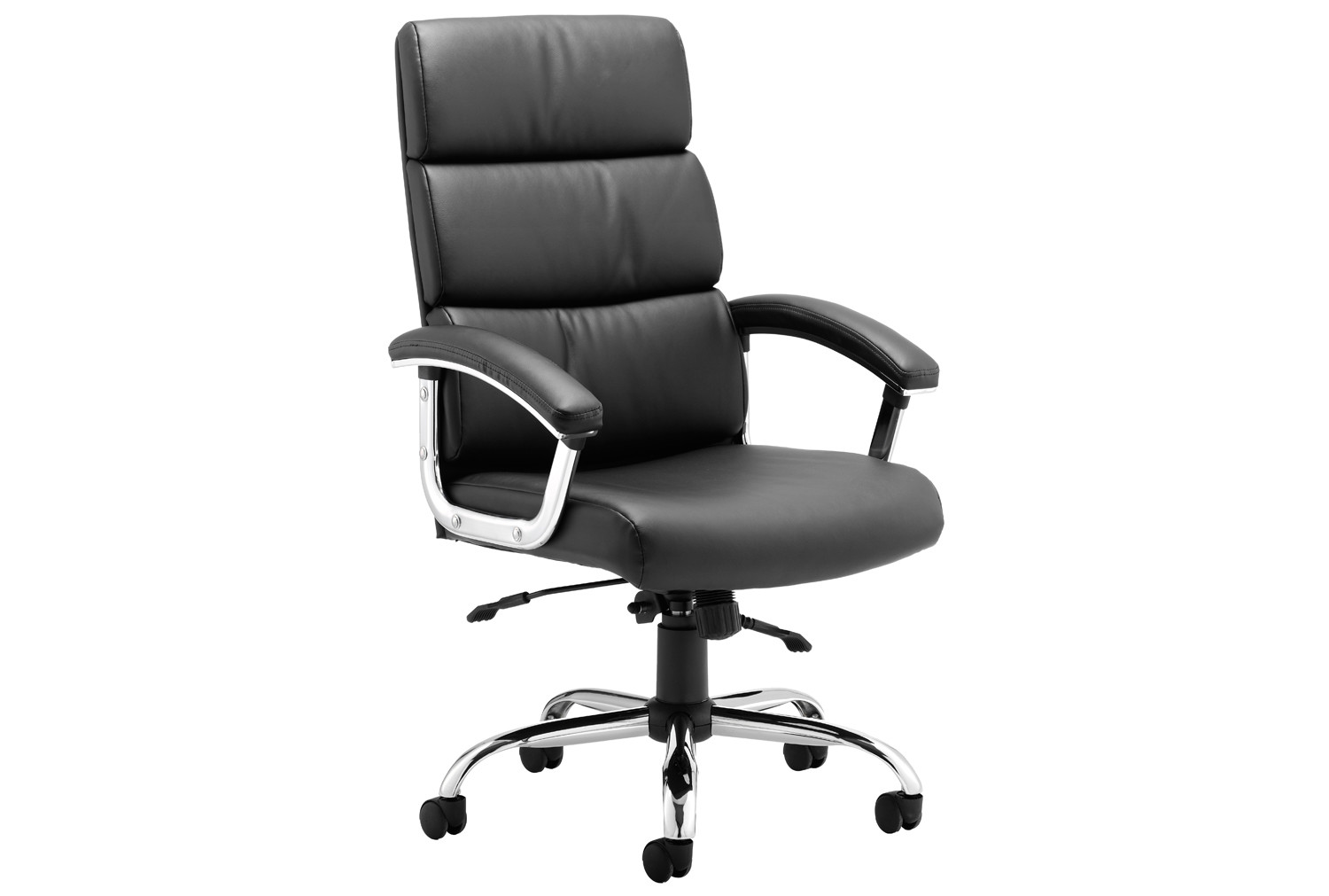 Crave High Back Black Bonded Leather Executive Chair