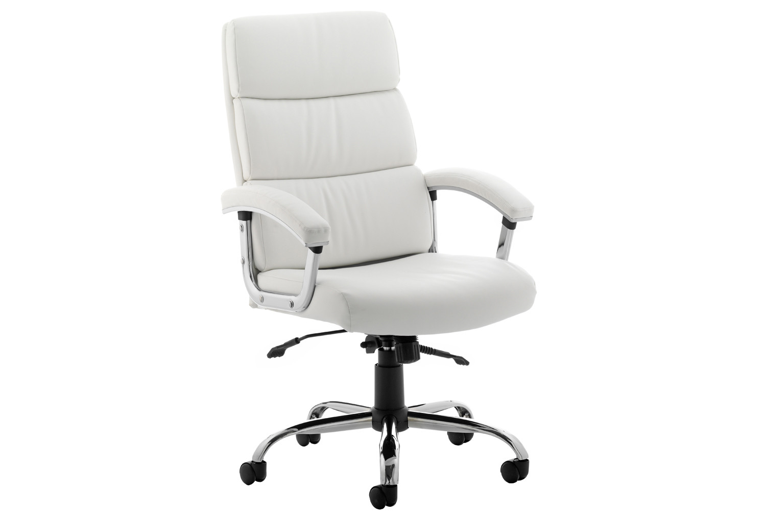Crave High Back White Bonded Leather Executive Chair