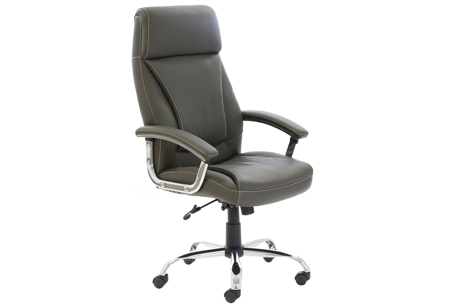 Penza High Back Executive Brown Leather Chair