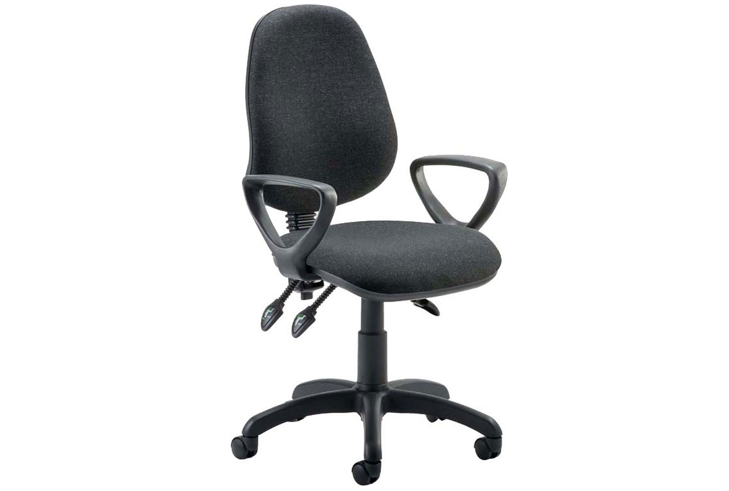 Lunar 3 Lever Operator Chair With Fixed Arms