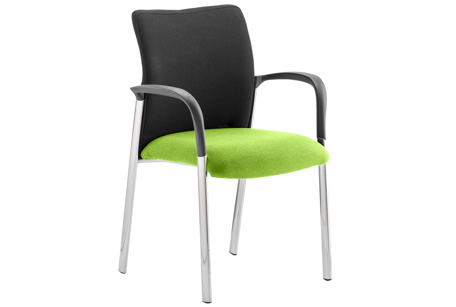 Guild 4 Leg Armchair With Black Fabric Back