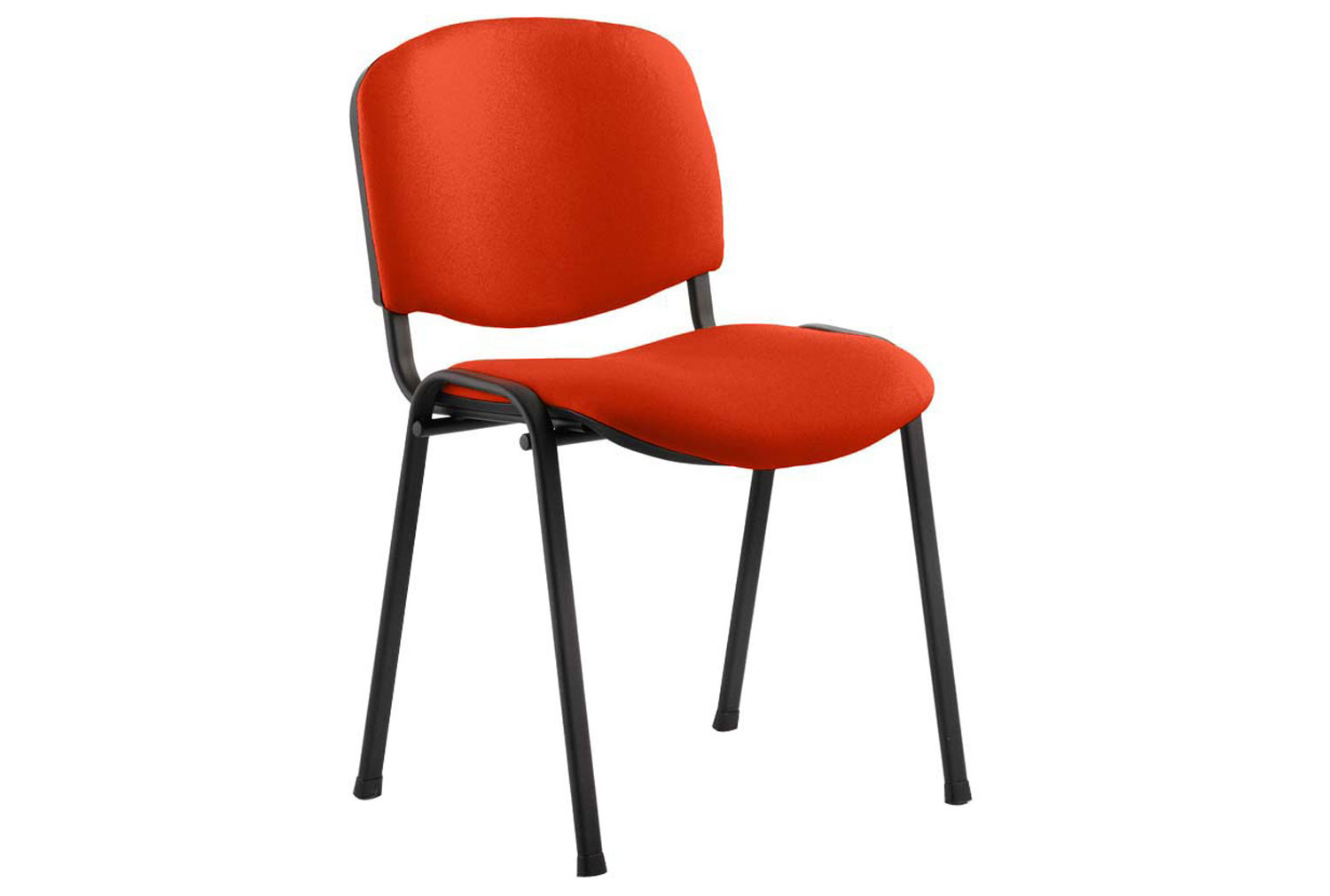 ISO Black Frame Conference Chair (Tabasco Red)