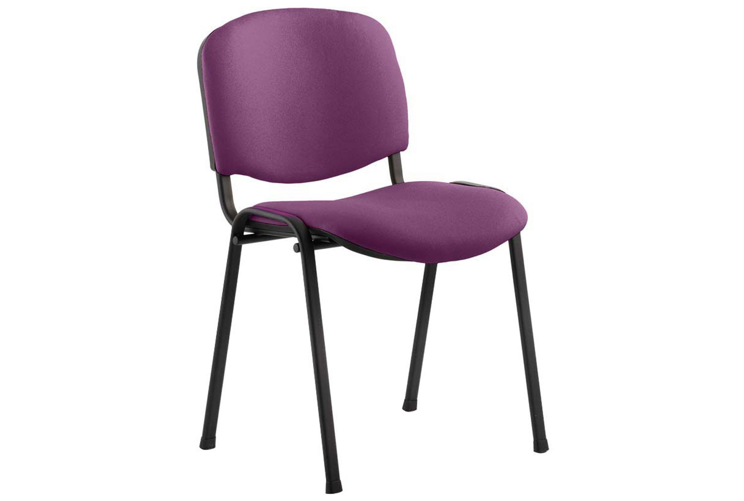 ISO Black Frame Conference Chair (Tansy Purple)