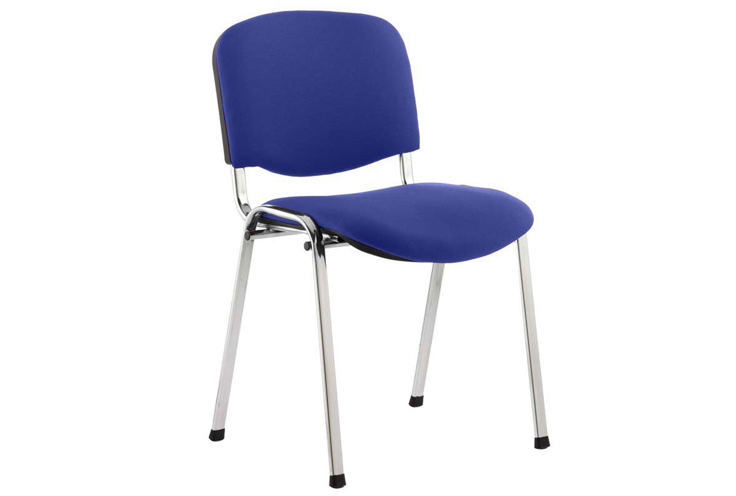 ISO Chrome Frame Conference Chair (Stevia Blue)