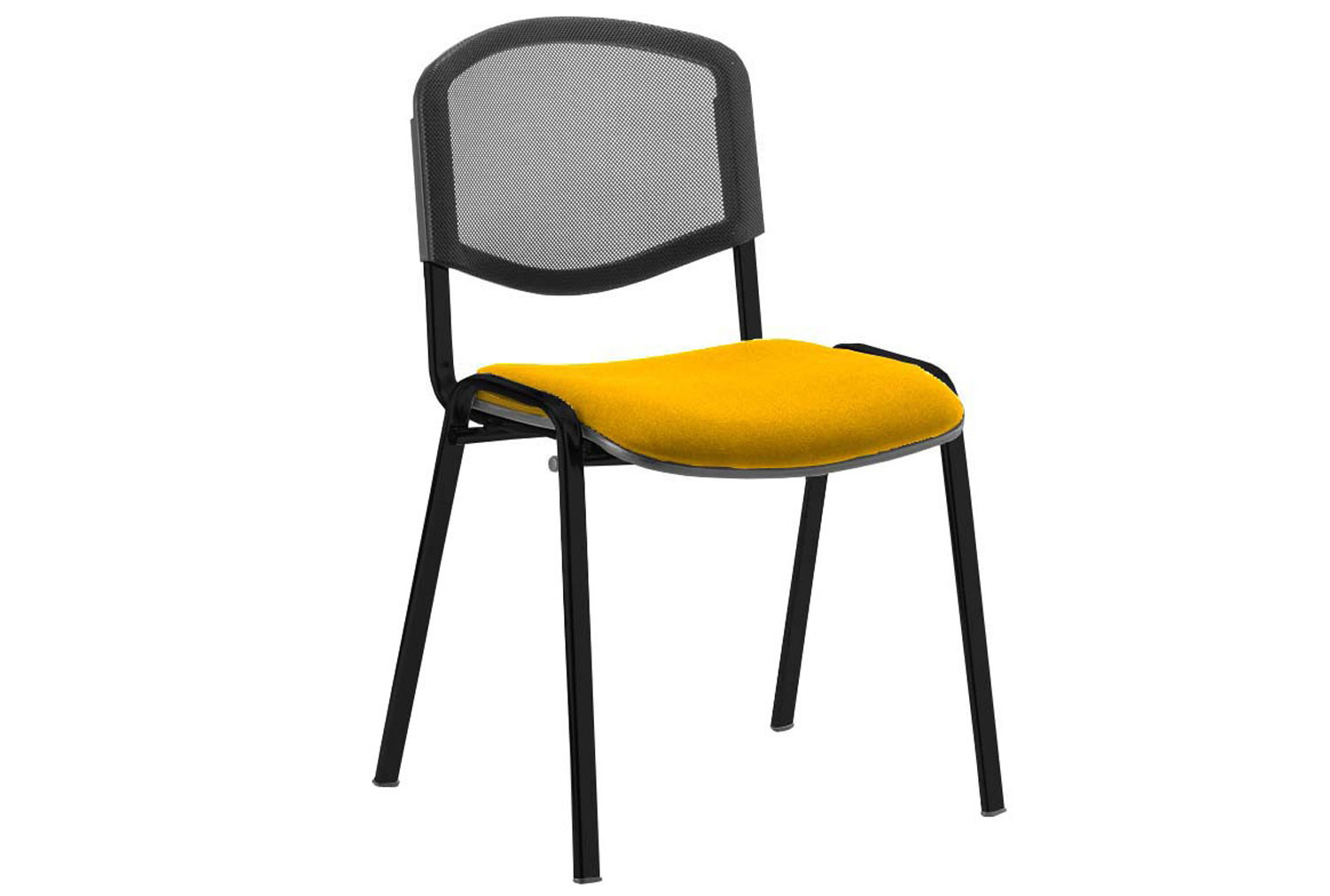 ISO Black Frame Mesh Back Conference Chair (Senna Yellow)
