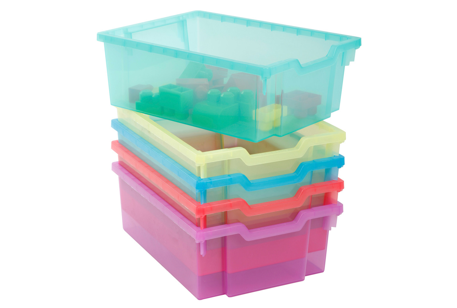 Pack Of 6 Gratnell Deep Trays