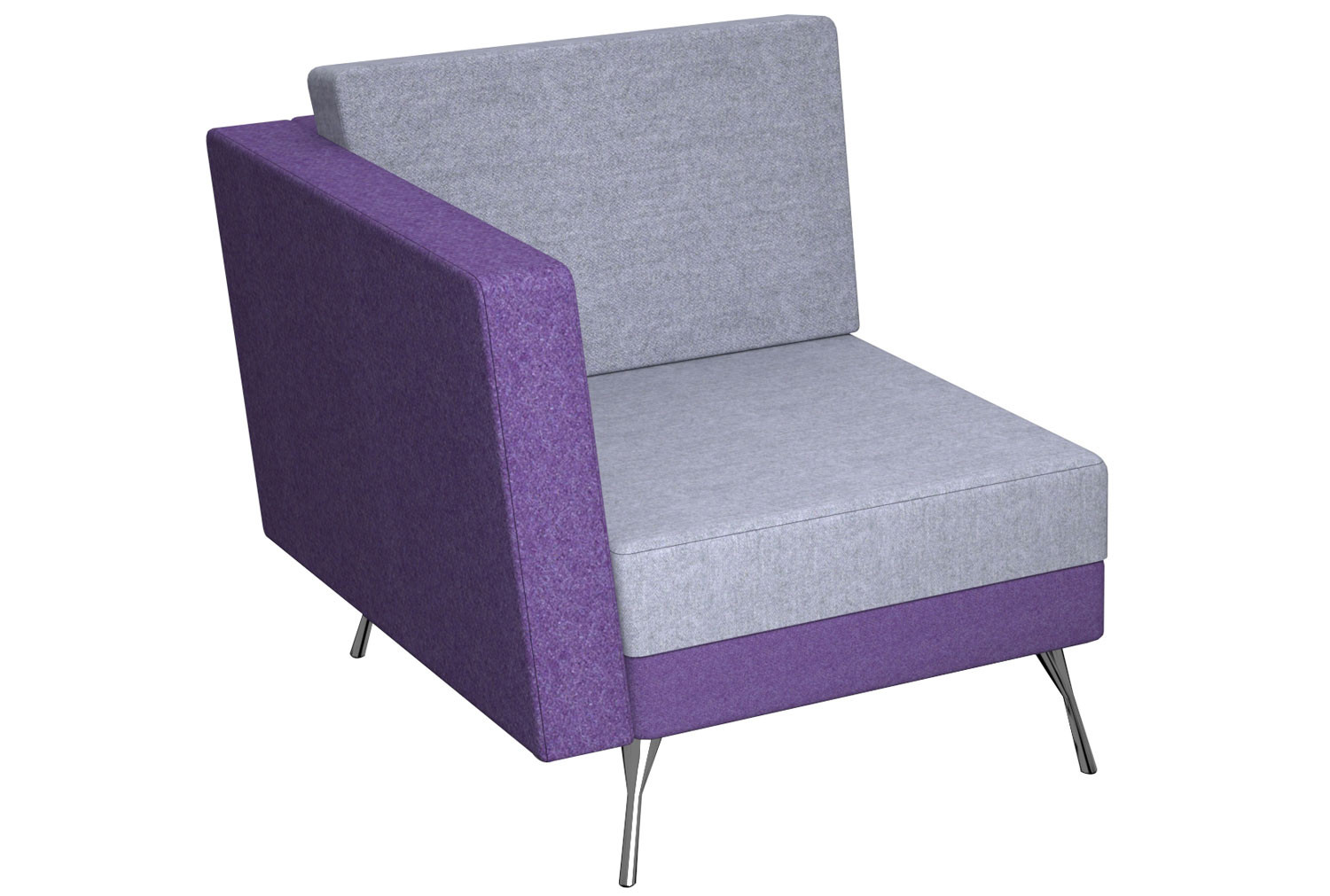 Placid Modular Chair With Right Arm