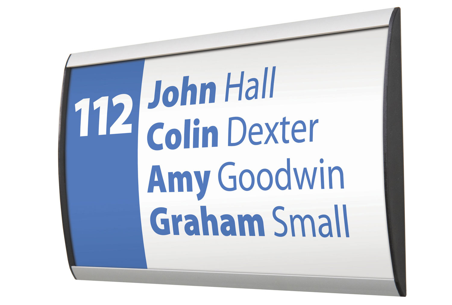 Showpoint Wall Sign System 162mm High