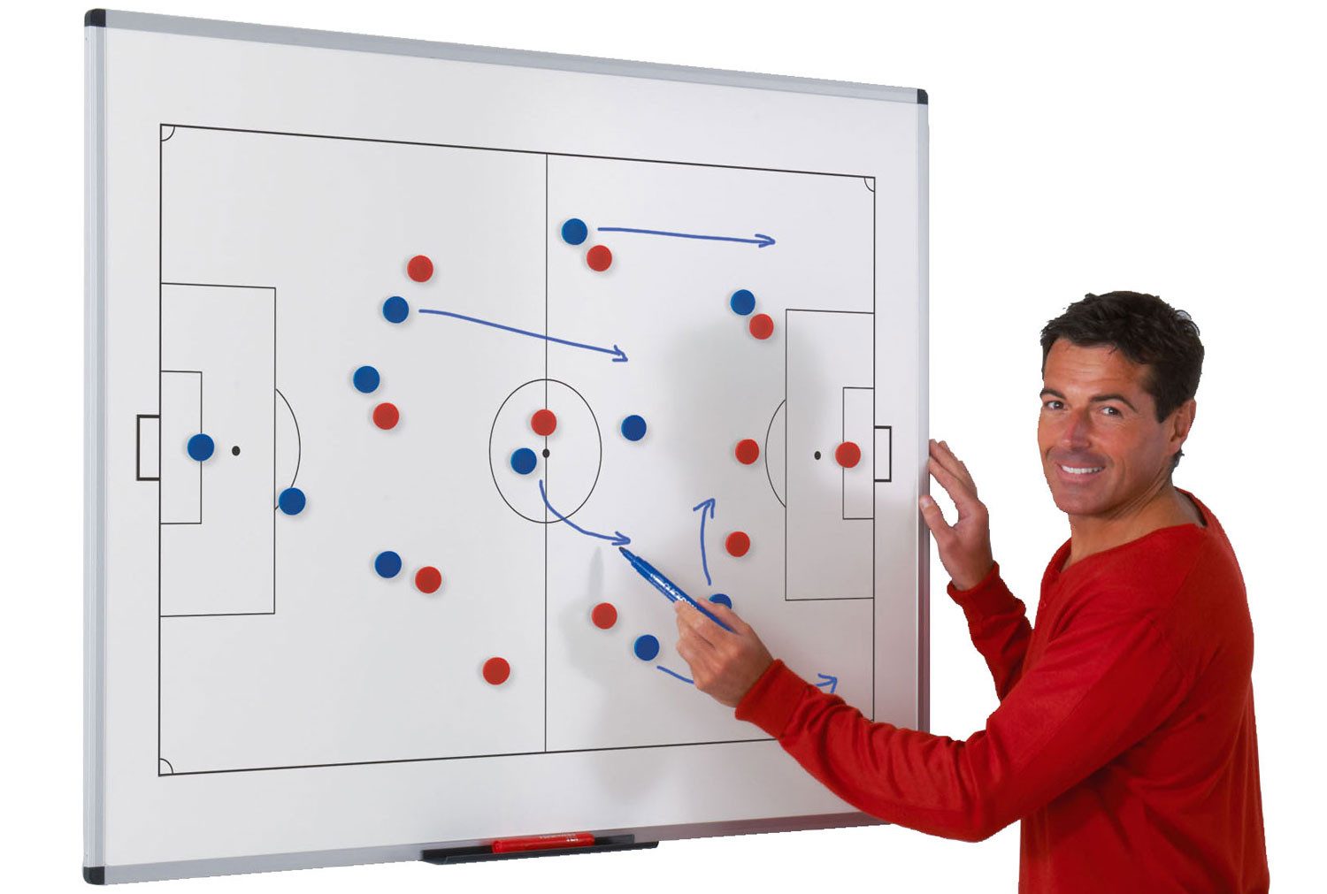 Write-On Wall Mounted Tactical Sportsboards