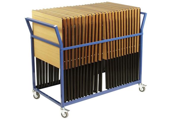 Trolley For 25xPremium Folding Exam Desks (Vertical Stacking)