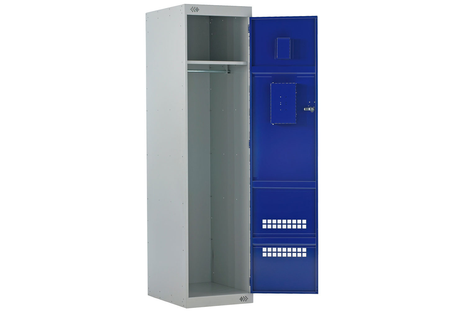 Economy Police Lockers With Airwaves & CS Canister Holder