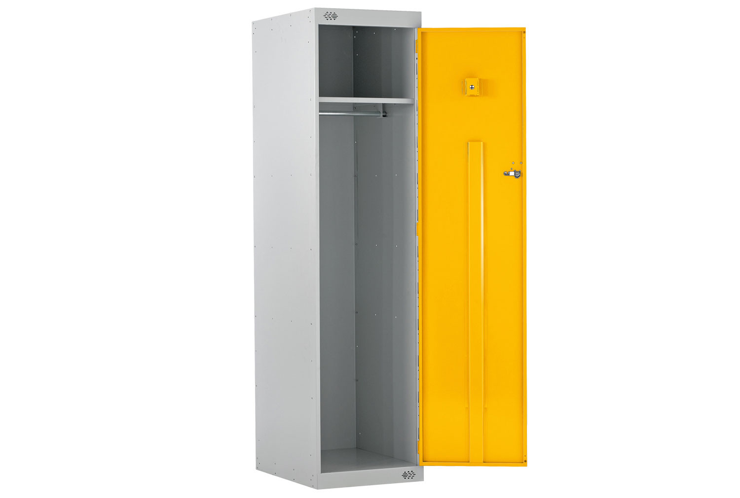 Economy Police Lockers With CS Canister Holder