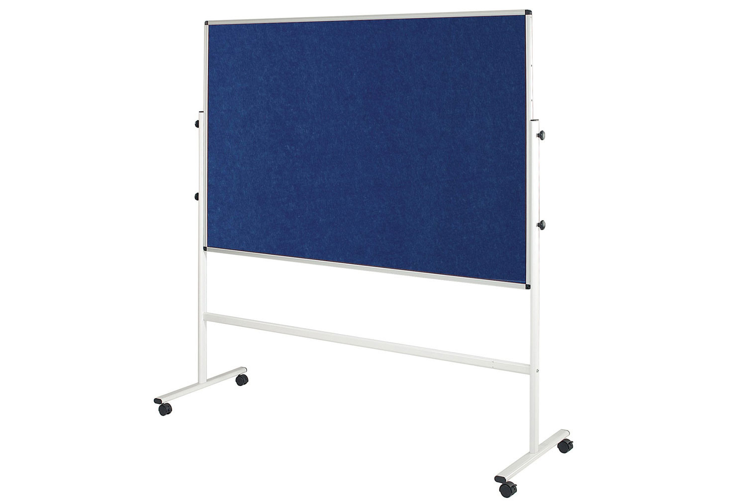 Eco Colour Resist-A-Flame Double Sided Mobile Noticeboard