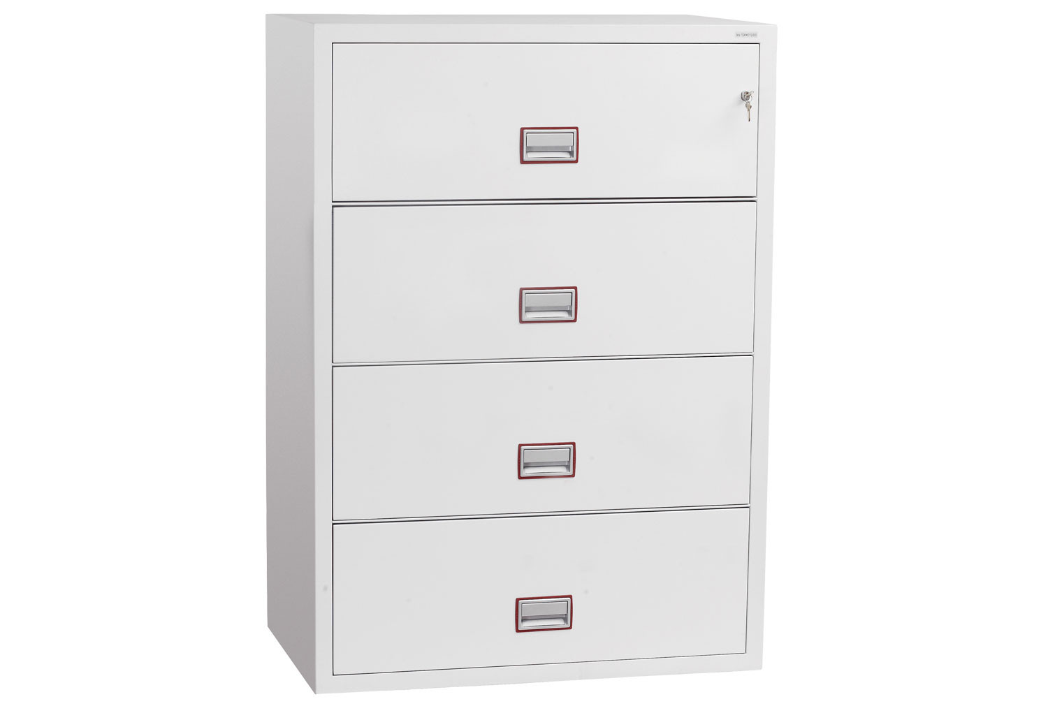 Phoenix World Class Lateral FS2414K Fire File 4 Drawers With Key Lock