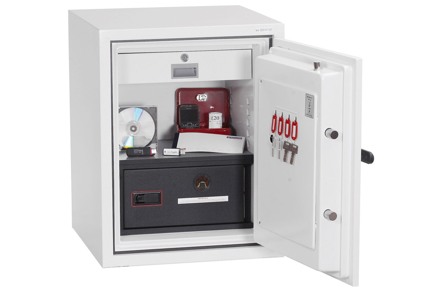 Phoenix Data Combi DS2501E Data Safe With Electronic Lock (63ltrs)