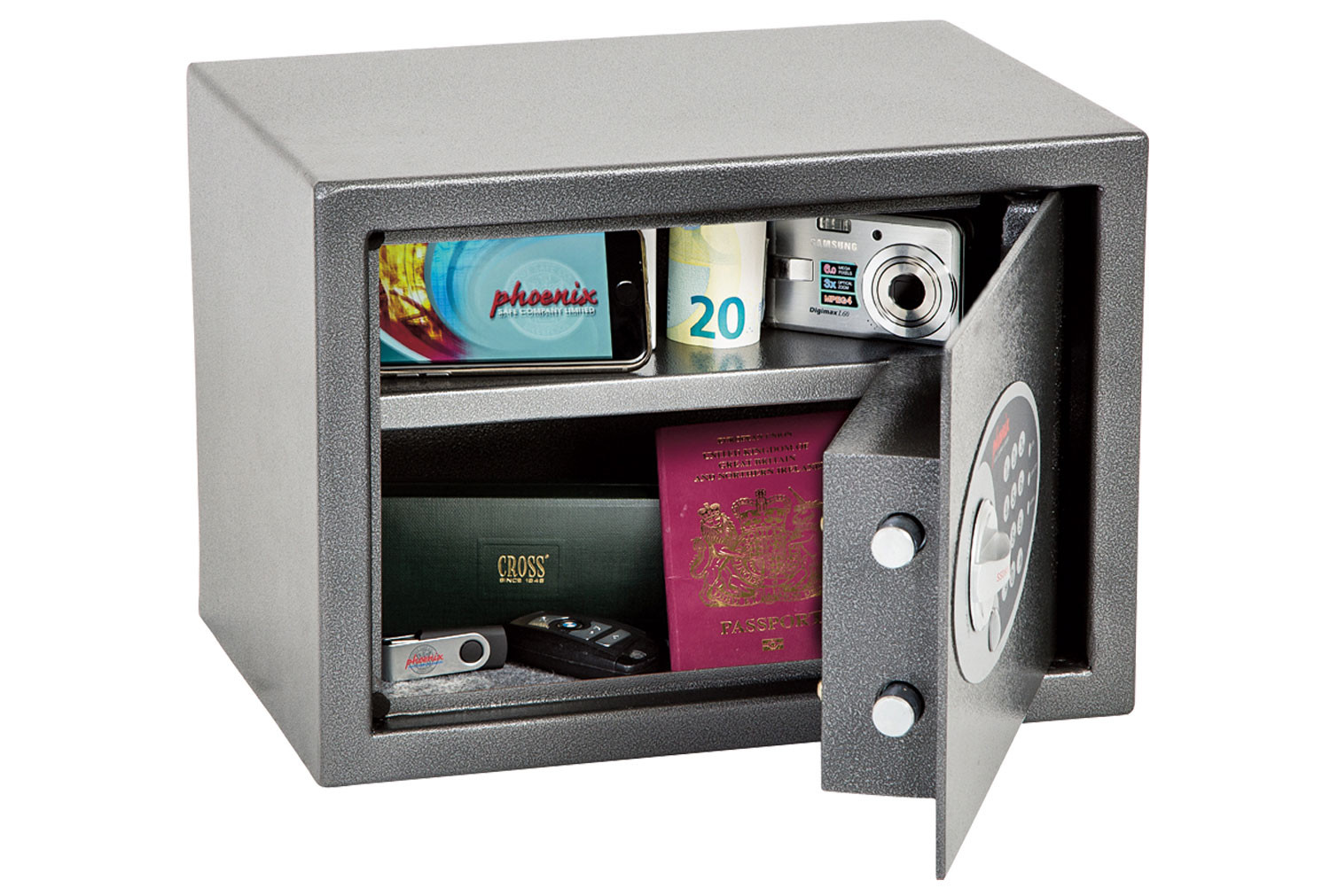 Phoenix Dione SS0301E Hotel And Laptop Safe With Electronic Lock (16ltrs)