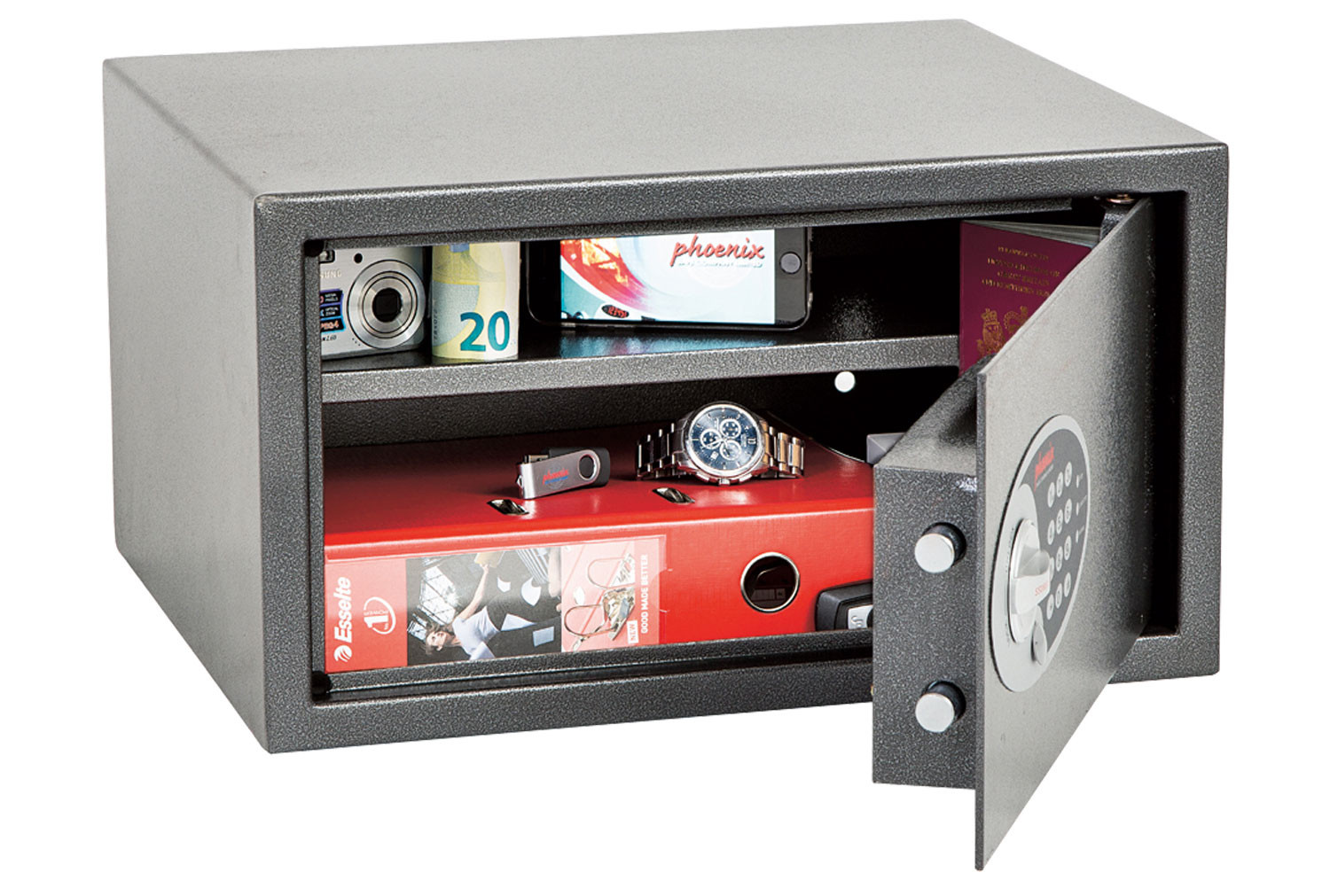 Phoenix Dione SS0302E Hotel And Laptop Safe With Electronic Lock (16ltrs)