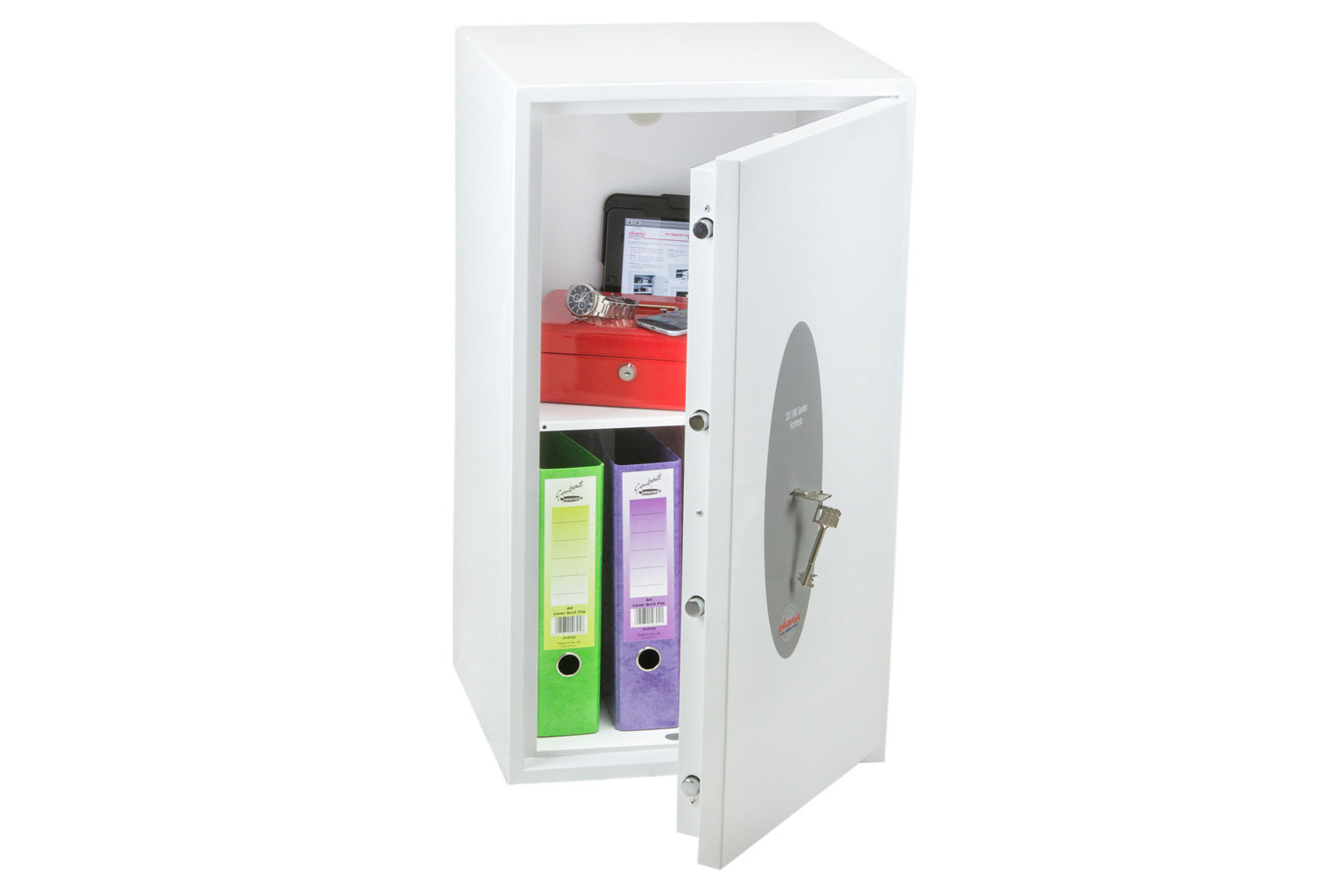 Phoenix Fortress SS1184K Security Safe With Key Lock (74ltrs)