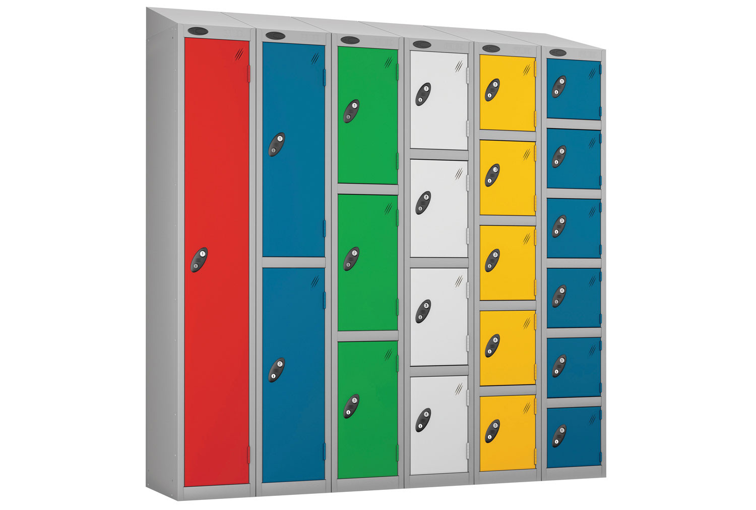 Probe Everyday Lockers With Sloping Top
