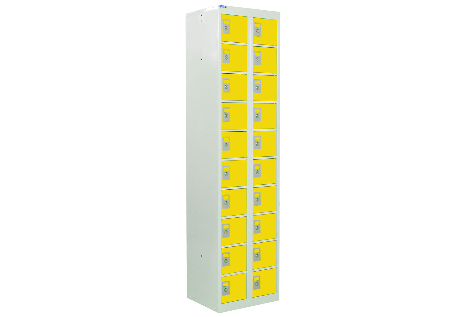 QMP Tall Personal Effects Lockers With 20 Doors
