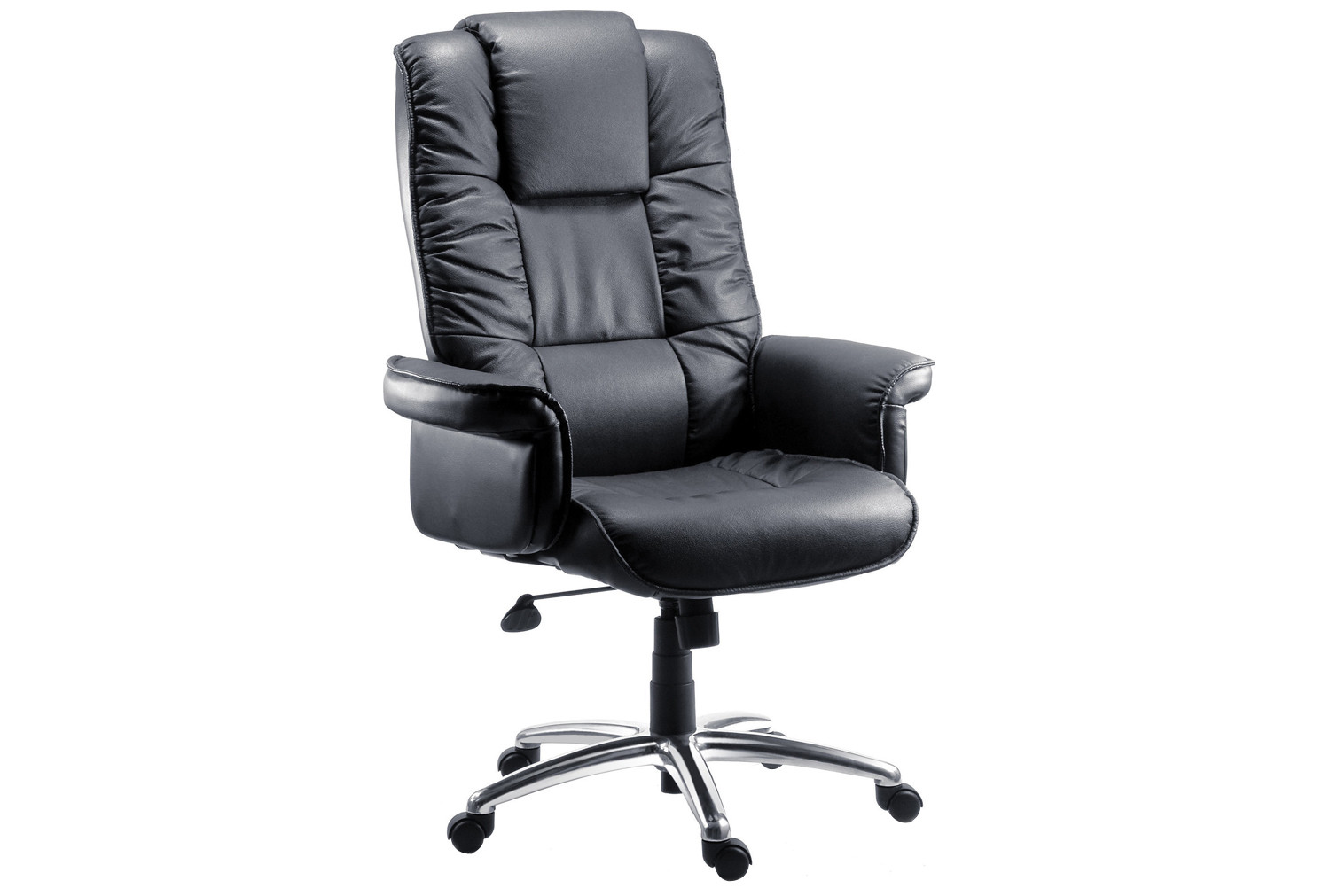 Roma Black Bonded Leather Executive Chair
