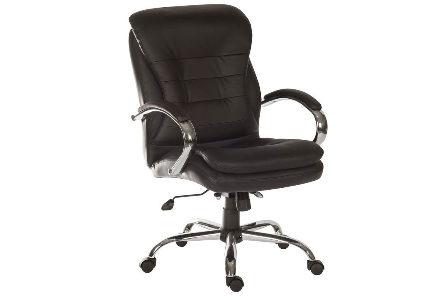 Colossal Light Leather Faced Executive Chair