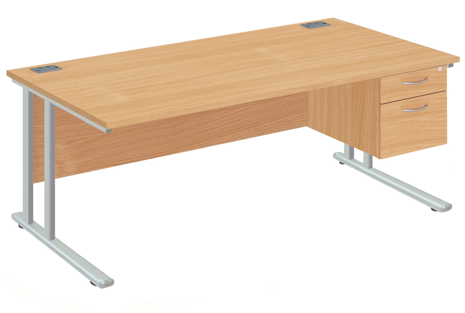 Proteus II Clerical Desk With 2 Drawers