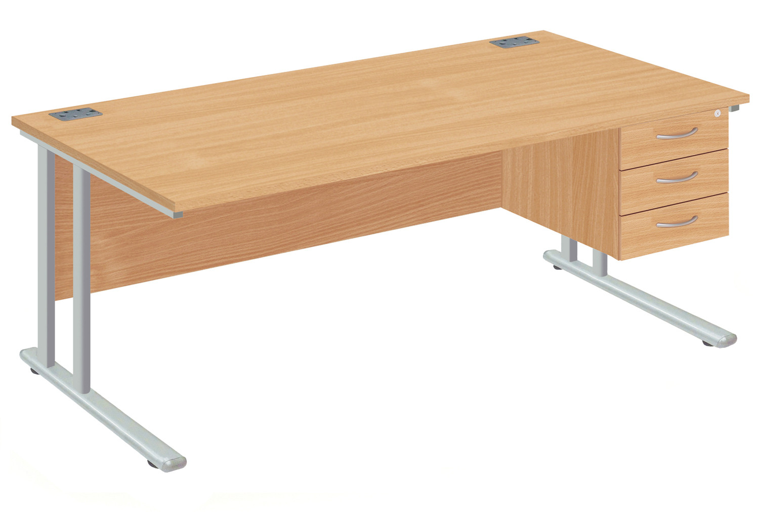 Proteus II Clerical Desk With 3 Drawers