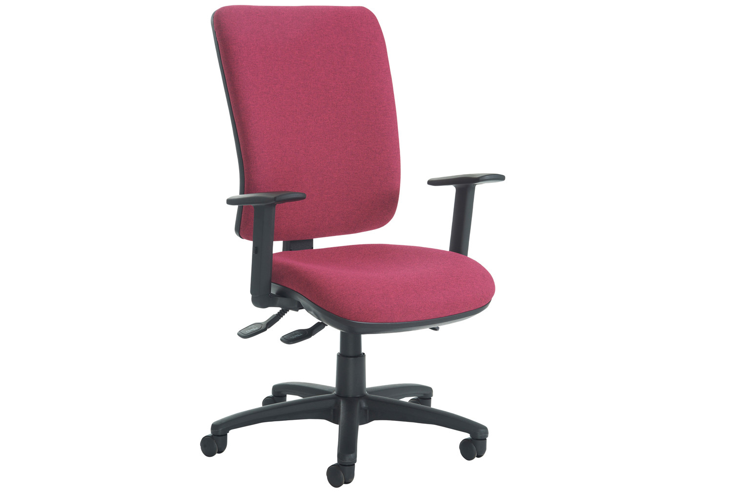 polnoon extra high back operator chair with height adjustable arms furniture at work. Black Bedroom Furniture Sets. Home Design Ideas