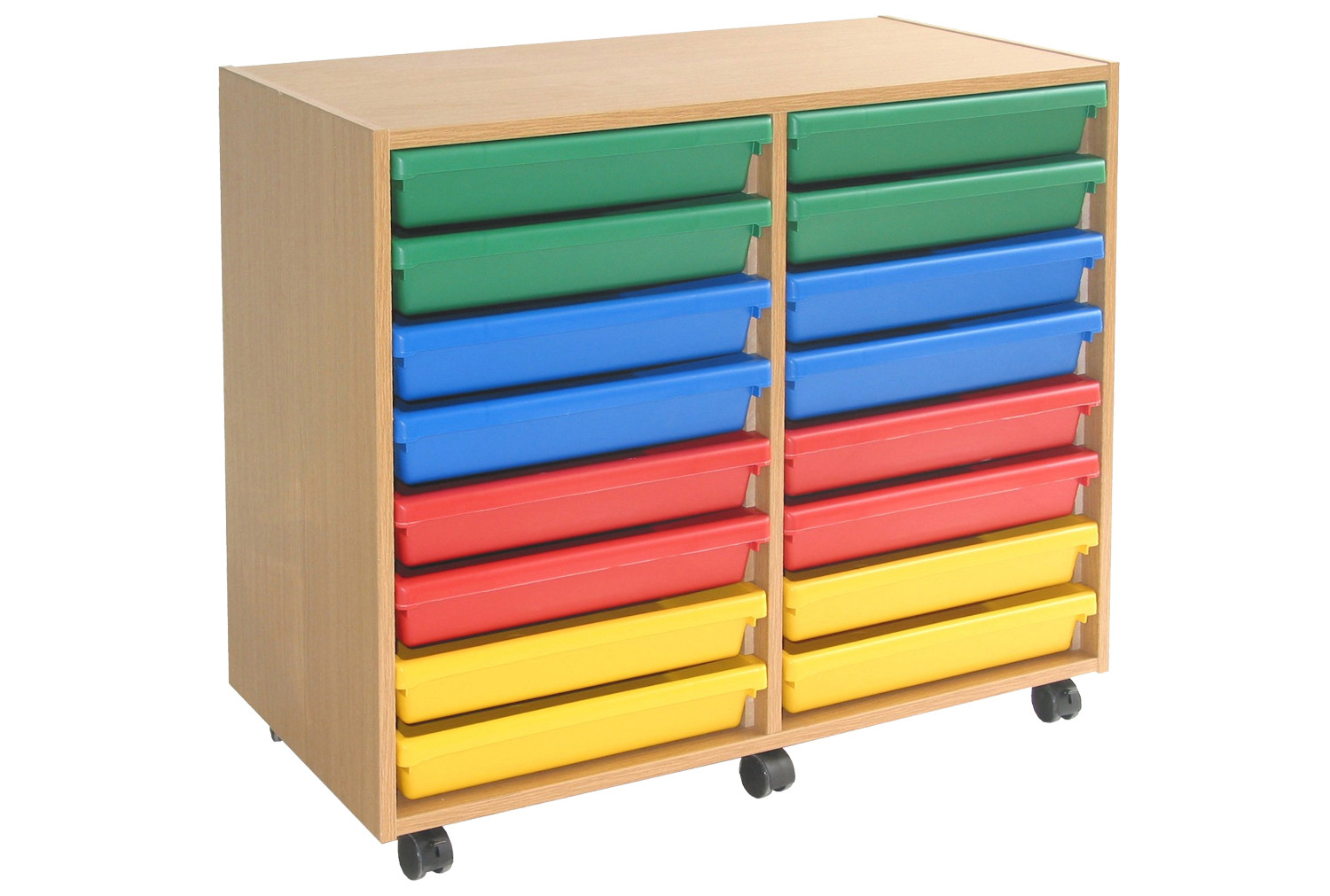 A3 Paper storage unit with 16 trays