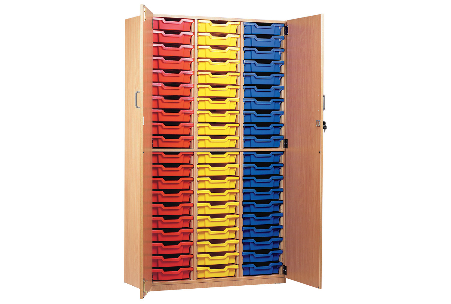 60 Tray Storage Cupboard With Full Doors