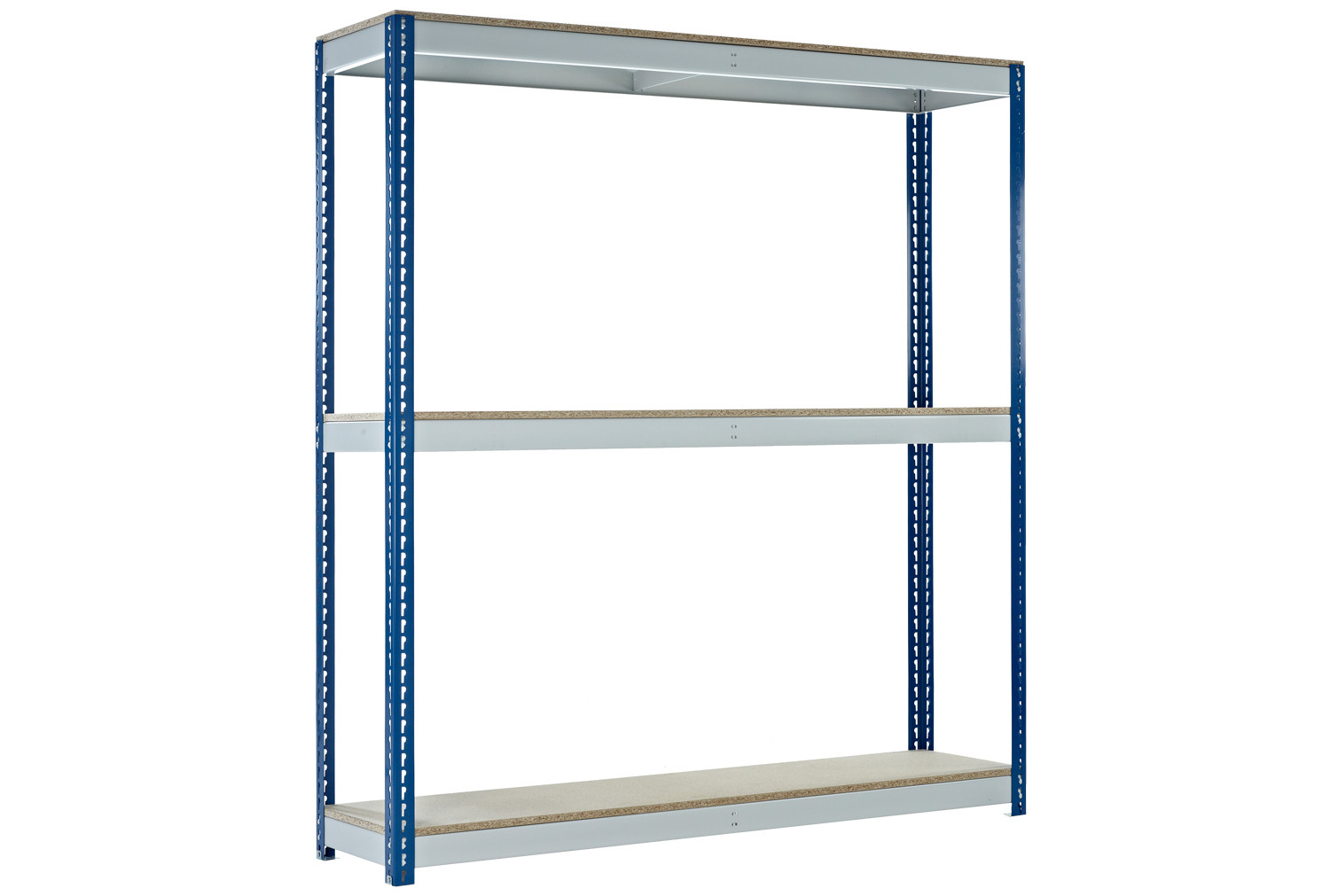 Premium 3 tier boltless shelving